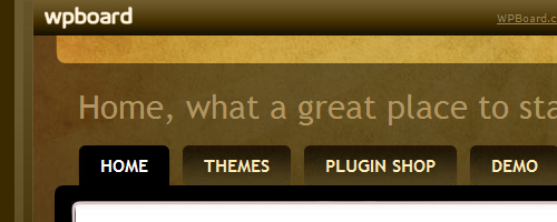 wpboard, themes and plugins