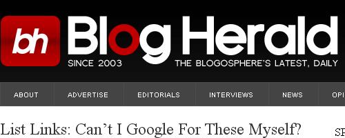 Blog Herald