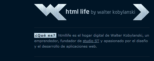 html life