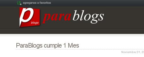para blogs