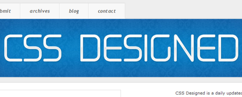 CSS Designed