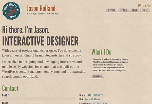 Jason Holland - Interactive Design & Brand Strategy