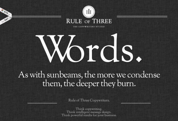 rule of threecouk