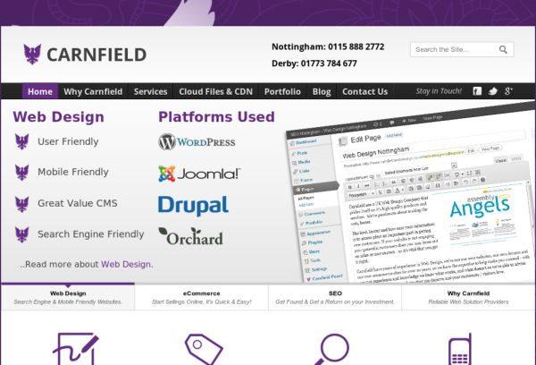 wwwcarnfieldwebdesigncouk