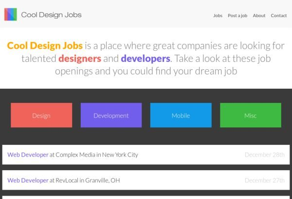 wwwcooldesignjobscom