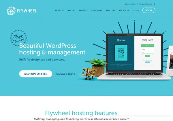 flywheel managed wordpress hosting company