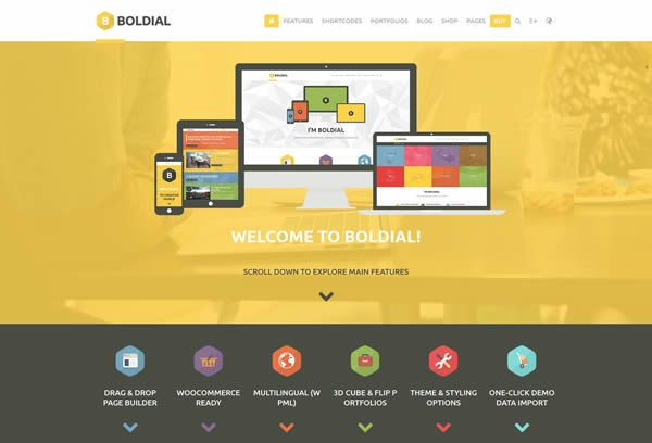 boldial theme