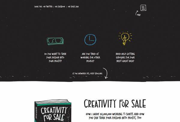 creativityforsalecom