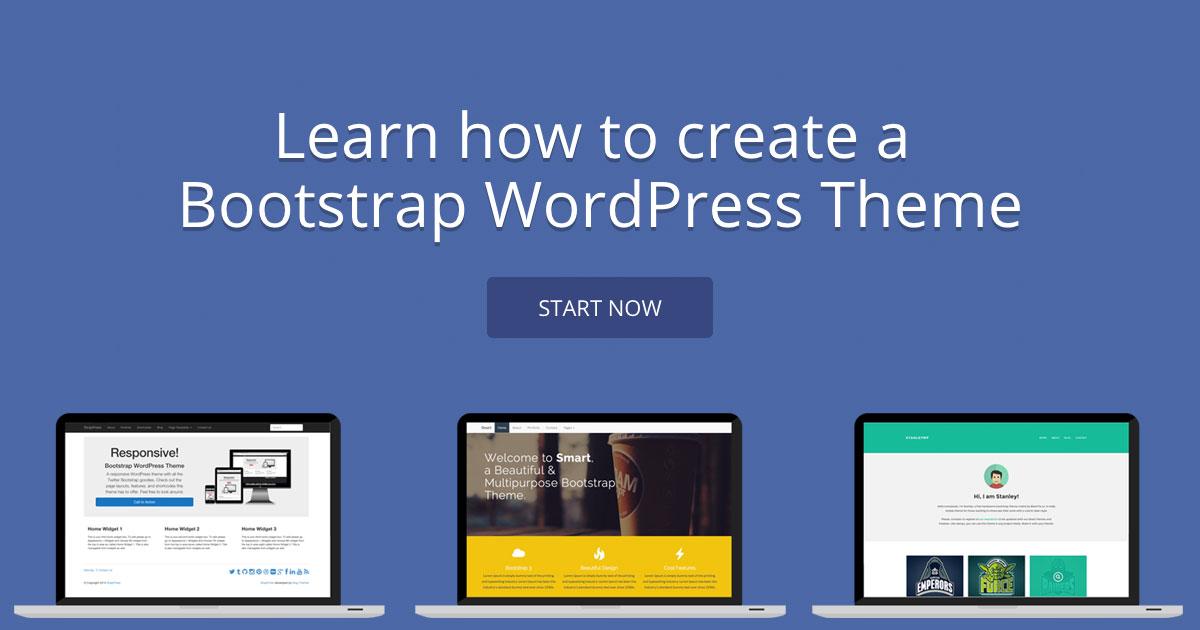 Creating A Wordpress Theme With Bootstrap Wanderlust Web Design Wordpress Studio
