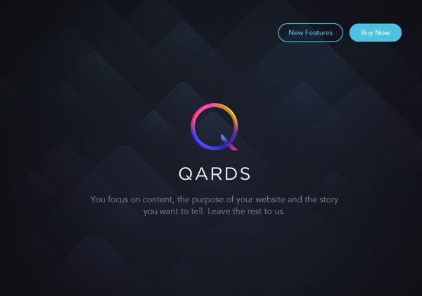 qards-design-modo-website