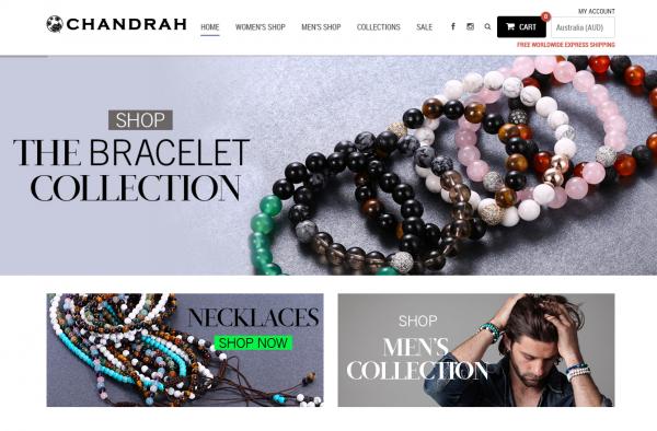 Chandrah Healing Stone Jewellery