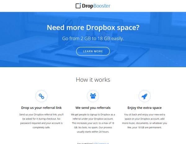 dropbooster
