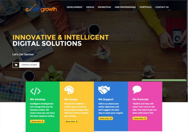 eComgrowth WebDesign Development Agency