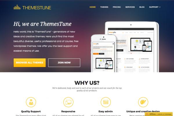 Themes Tune Premium WordPress Themes 2016 02 15 15 59 13