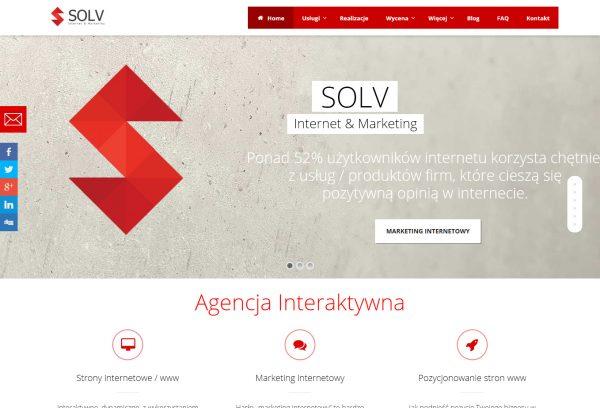 SOLV™ Agencja Interaktywna katowice strony internetowe Katowice 2016 03 24 12 16 40