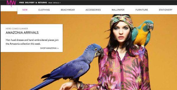 MW homepage