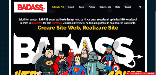 Creare Site Web Realizare Sit Pret crearesite BADASS 2016 09 01 22 56 35
