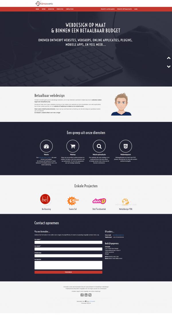 FireShot Capture 8 Betaalbaar webdesign en webapplicaties te Aarschot Onow https onoweb.be