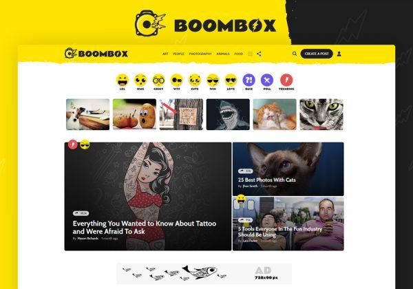 Boombox WeLoveWP