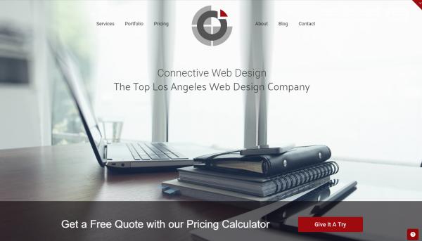 Los Angeles Web Design Company Connective Web Design