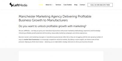 Manchester Marketing Branding Agency • LeftMedia