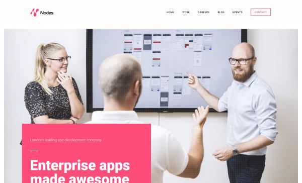 Mobile app development company in London Nodes
