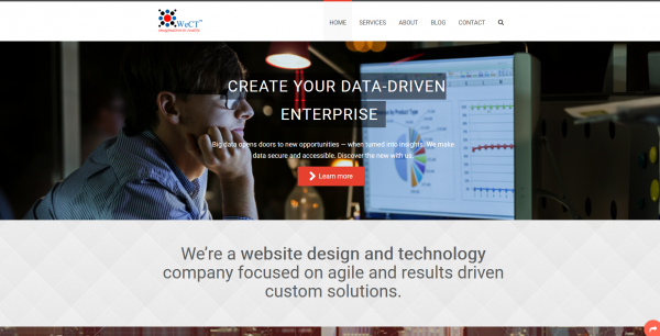 Website Design Ecommerce Mobility Digital Solutions Consulting WeCT