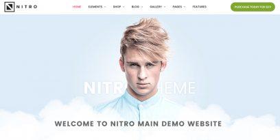 Nitro WooCommerce theme