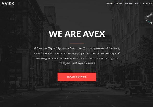 avex screenshot