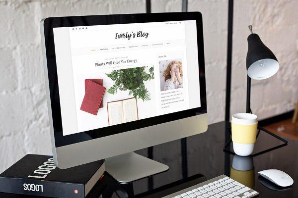 everly hipster free wordpress blog theme s