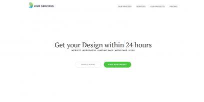 ui ux services web design mobile app design WordPress design
