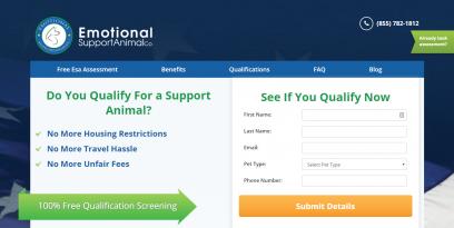 ESA Dog Letters Animal Registration ESA Co