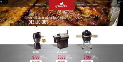 grilla grills screenshot