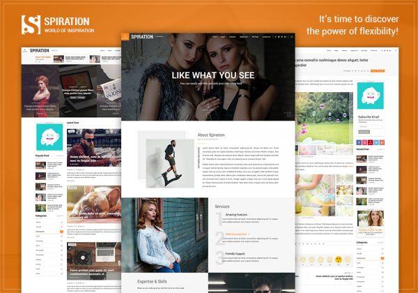 spiration multipurpose wordpress magazine theme