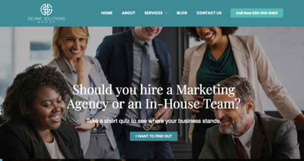 devine solutions group site
