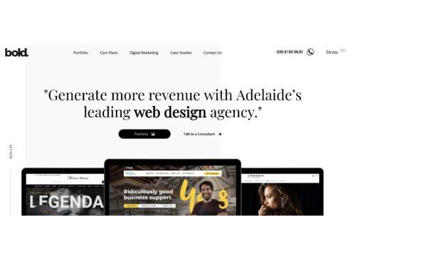 Bold Web Design 1000