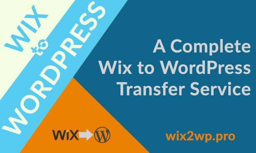 Wix2wp pro