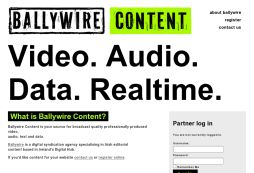 Ballywire Content Hub