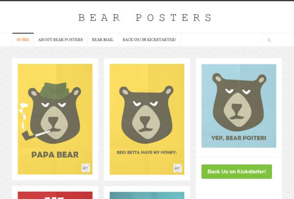 Bear Posters