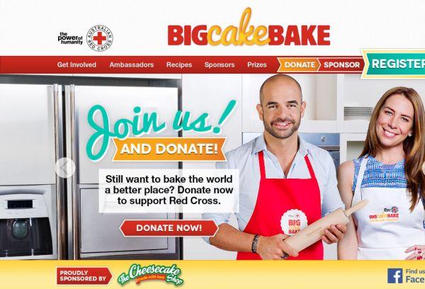 Big Cake Bake for Australian Red Cross