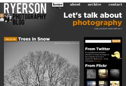 Ryerson Photography Blog