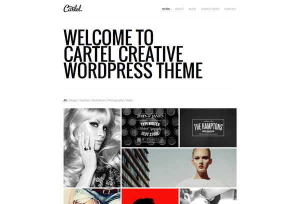 Cartel WordPress Theme