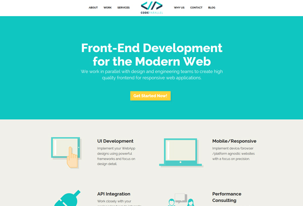 Code Parallel | Front-end Development for the Modern Web