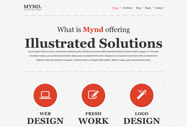 Mynd - Creative Portfolio Theme
