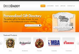 Deco Daddy - Personalized Gift Directory
