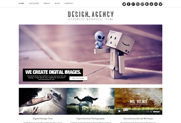 Design Agency Theme