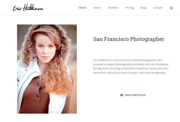 San Francisco Photographer Eric Heikkinen