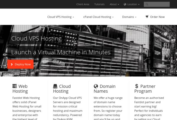Fastdot Cloud Hosting