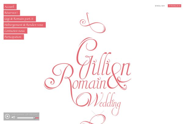 Gillian And Romain Wedding