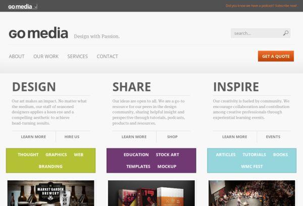 Go Media Design with Passion